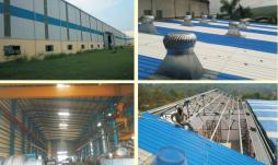 سقف upvc ،پوشش سقف عالی برای عایق بندی حرارتی و ضد خوردگی