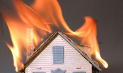 ایمنی ساختمان در مقابل آتش سوزی با استفاده از ورق یو پی وی سی در سقفها
